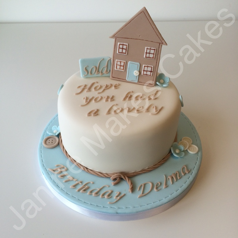 Cake Designs You Can Do At Home : New house cake designs - Home design and style
