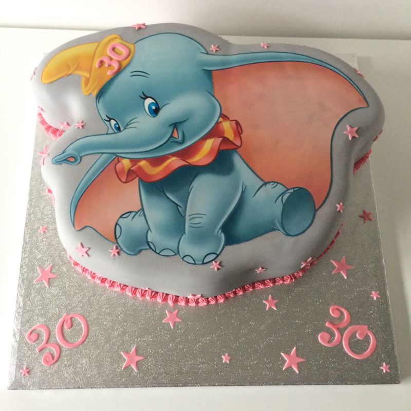 Dumbo Birthday Cake Pan